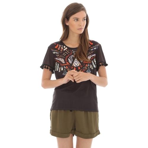 t-shirt-ethnique-pompons-pimkie-soldes